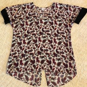 DR2 Blouse. Size small